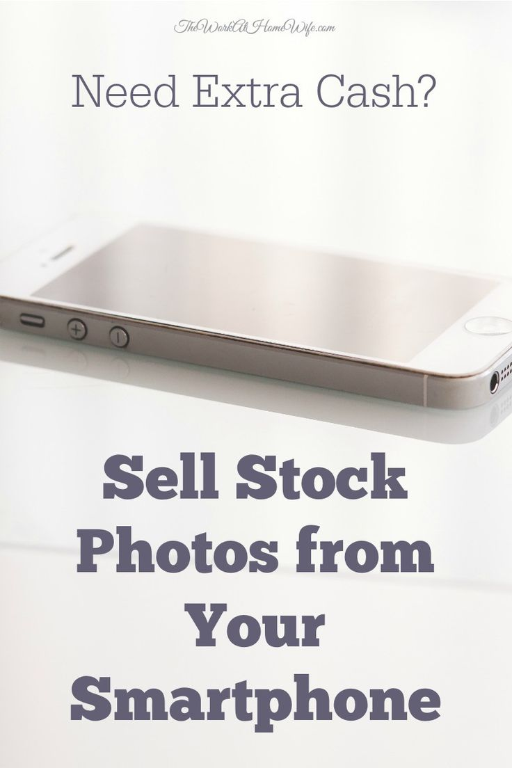 In today's smartphone nation, it's easier than ever to make extra money selling stock photos from your cellphone, too.