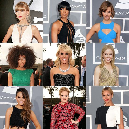 Red Carpet Hairstyles of 2013 Grammy Awards