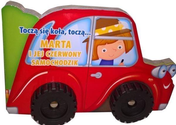 Seria książeczekwydawnictwa YOYO BOOKSw kształcie pojazdów (traktor, wóz strażacki, skuter i wyścigówka). Każda książka ma zamontowane koła, co czyni ją dodatkowo atrakcyjną.Po przeczytaniu opowieści książeczka przeistacza się w jeżdżący pojazd.