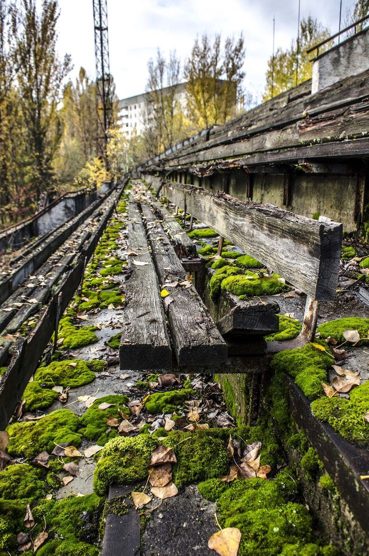 Sports Stadium | Pripyat, Ukraine