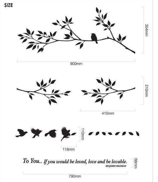 tree stencils for painting walls - Google Search
