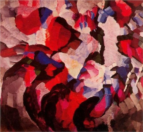 Artist: Frantisek Kupka Completion Date: 1920 Style: Orphism Genre: symbolic painting Technique: oil Material: canvas Dimensions: 116 x 124 ...