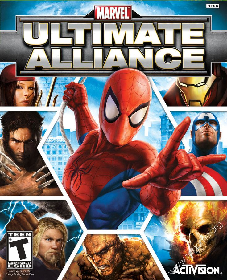 Marvel: Ultimate Alliance - Tai game | Download game Hành động