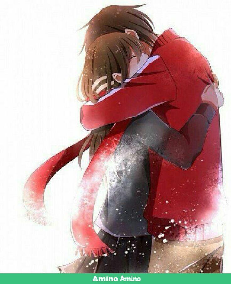 Картинки аниме плачущая девушка с парнем