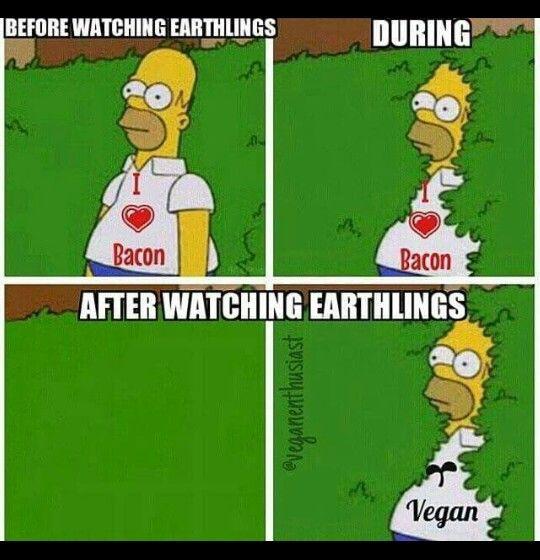 Funny Memes For Vegans : After watching earthlings vegan meme ootd ⚓ pinterest