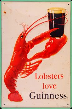 Lobsters Love Guinness... oh do they now?