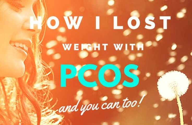 How I Lost Weight With PCOS