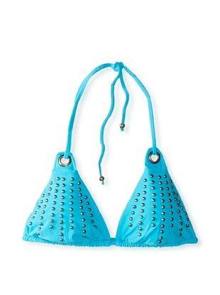 58% OFF Nanette Lepore Women's Zahia Vixen Bikini Top (Turquoise)