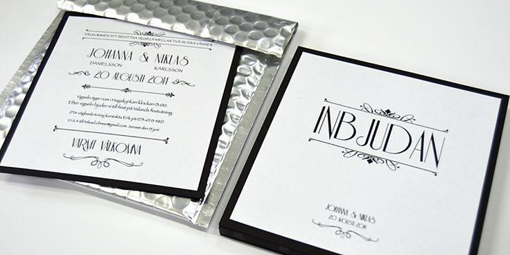 champagnesilverlight #brollop #invitation #inbjudan #wedding #bjudin