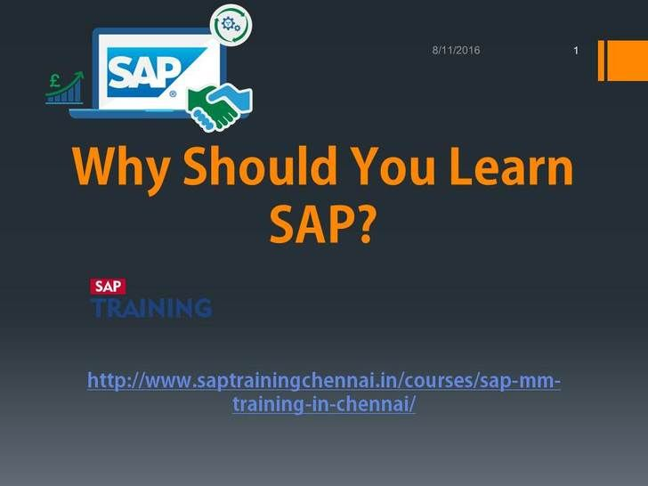 SAP MM training in Chennai  - Build Your IT Career