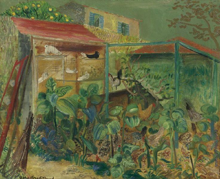 Boris Dmitriyevich Grigoriev  (1886–1939) - Сельская сцена. 1930.