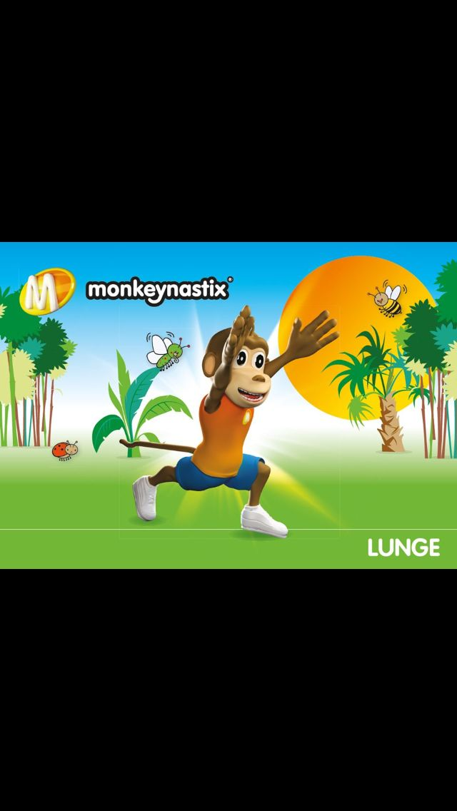 Lunging with monkeynastix Barrie
