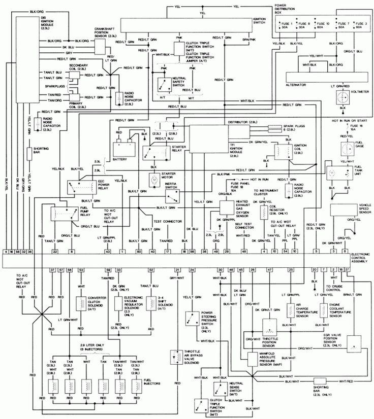 Diagram 1992 Ford Explorer Wiring Diagram