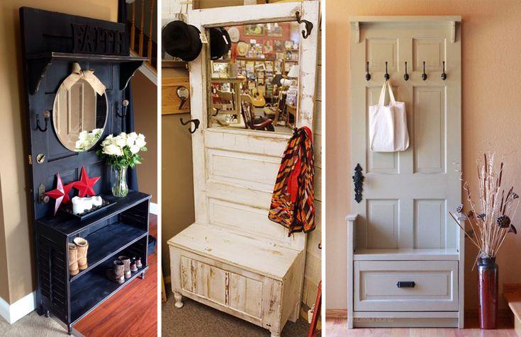 Что можно сделать из старой двери: 10 идей – Своими руками