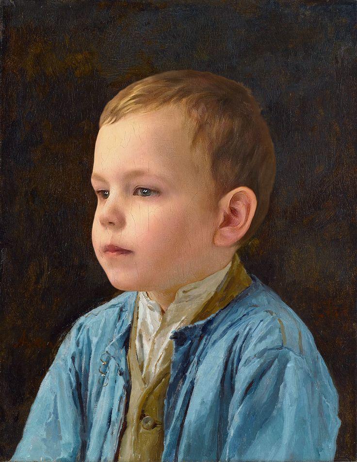 Kindesportrait mit 3,5