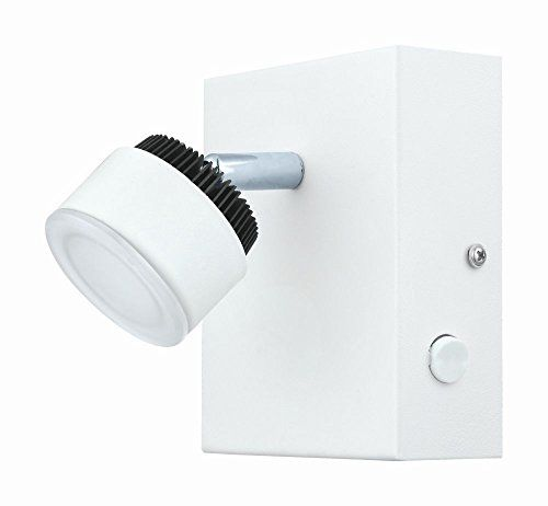 Eglo 93852 Armento LED White & Black Modern Single Lamp Spot Light