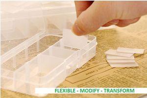 TRANSPARENT BOX (2x5) - FLEXIBLE,  MODIFY, & TRANSFORM