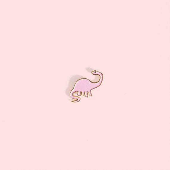 Cute DINO enamel pin by Oelwein on Etsy