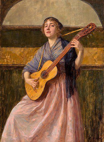 MARIA WIIK (1853-1928) Ballad