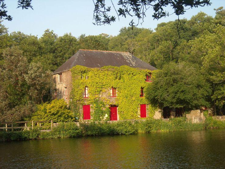 Moulin de Pen Mur à Muzillac dans le Morbihan (Bretagne)