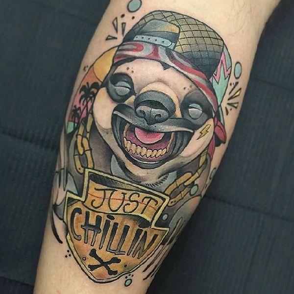 16 best sloth tattoos images on pinterest sloth tattoo
