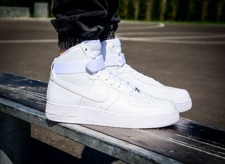 #nike #airforce #nikeairforce1 #airforce1mid Nike Air Force 1 Mid - The  legendary AF1 comes in the traditional white colorway. The upper is clothed…
