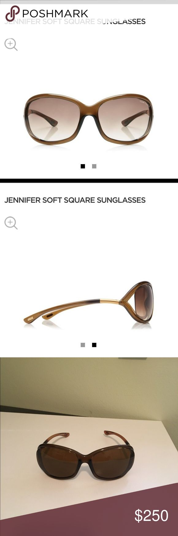 Tom Ford Jennifer Sunglasses Gently worn. Great condition. Polarized. Tom Ford Accessories Sunglasses
