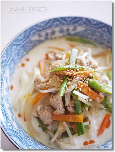 白ごま豆乳うどん by *Manis*さん | レシピブログ - 料理ブログの ...