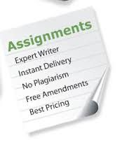 We always provide the Assignment Help services from the expert writers of our organization.   http://assignmenttask.com/assignment-help.html