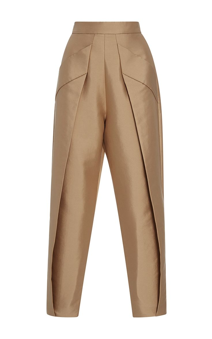 Janet Cropped Trousers by SOLACE LONDON for Preorder on Moda Operandi