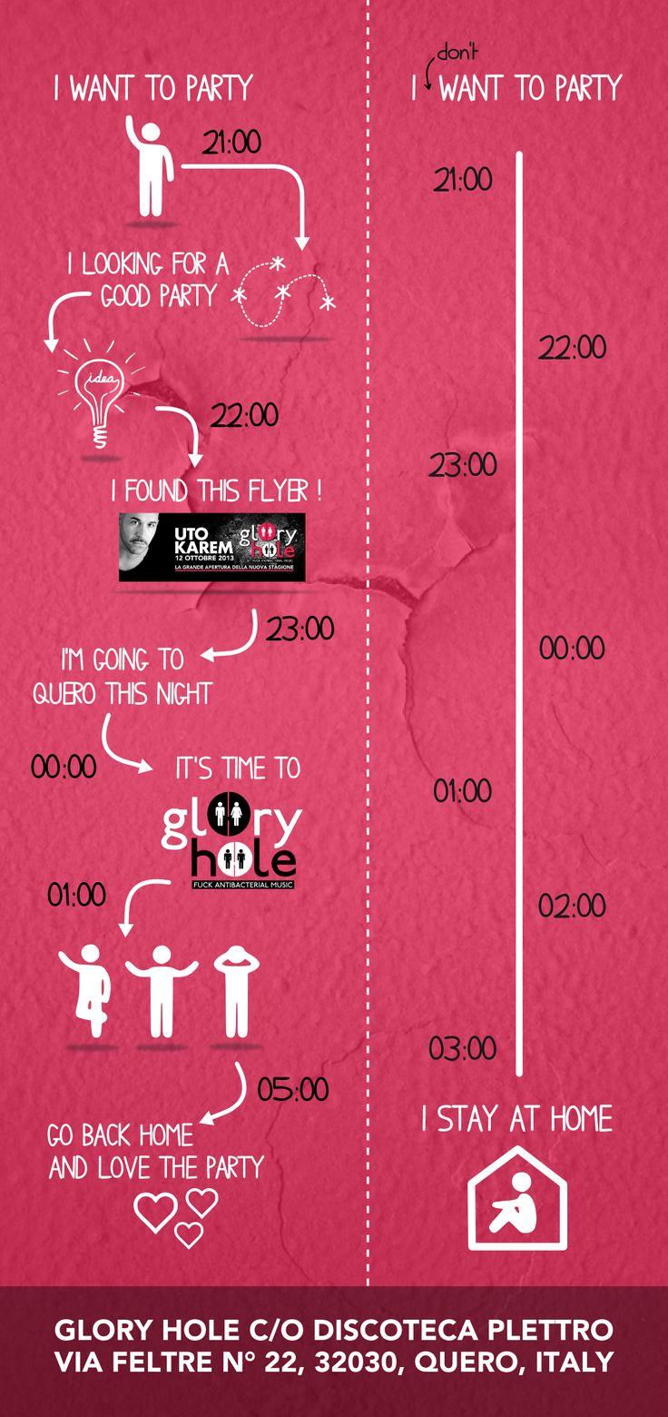 Flyer back | Glory Hole | Opening 2013