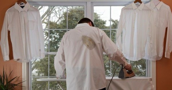 После неудачной глажки я уже хотел выбросить рубашку, пока мне не посоветовали ЭТО!