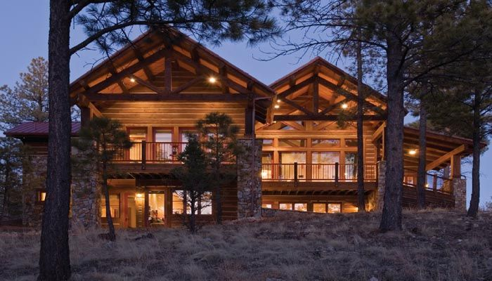 10 images about mountain rustic on pinterest cedar for Custom mountain homes