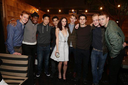 Maze Runner cast at The Truth About Emmanuel premiere ...