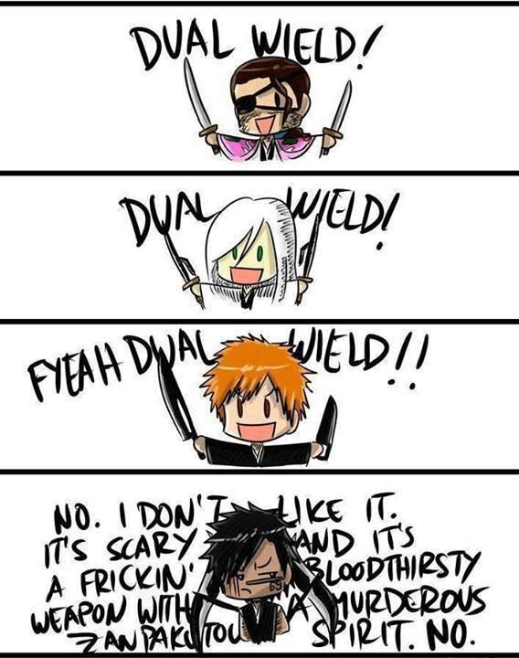 Bleach. hahaha Shuhei...