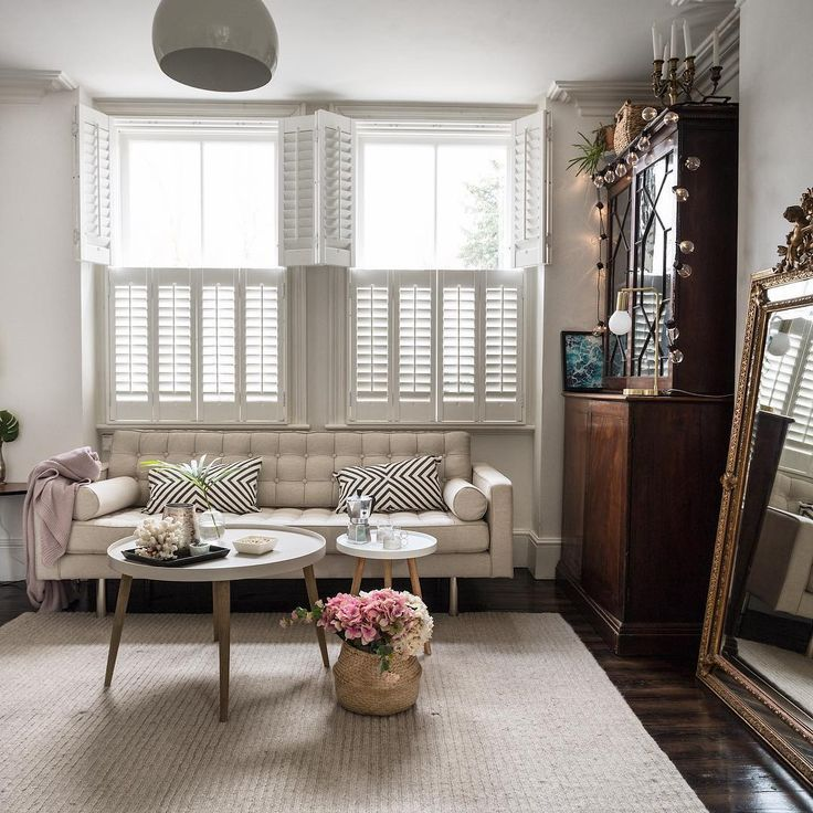 White Sofa And Sash Windows In A Victorian Living Room Product Styling And Photography Fo Bay Window Living Room Victorian Living Room Modern Grey Living Room #shutters #in #living #room