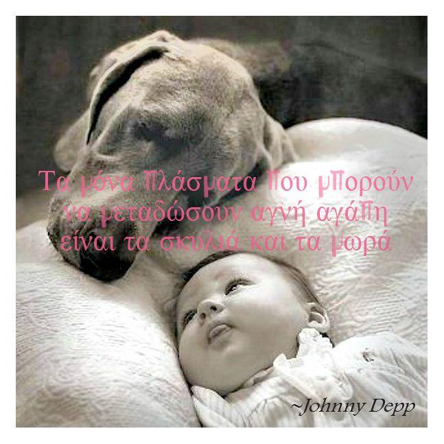 Τα μωρά και τα σκυλιά είναι τα πιο αθώα πλάσματα!