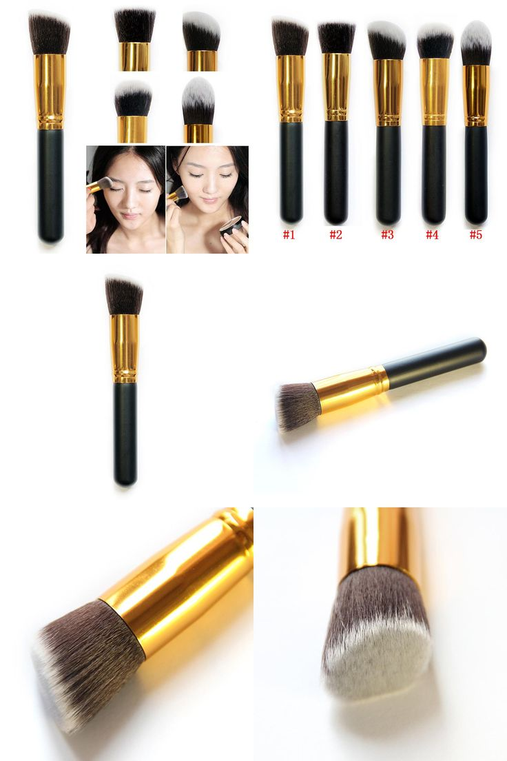 [Visit to Buy] Professional Face Makeup Cosmetic Brush Set Nose Concealer Eyeshadow Brushes 5 Style  HB88 #Advertisement