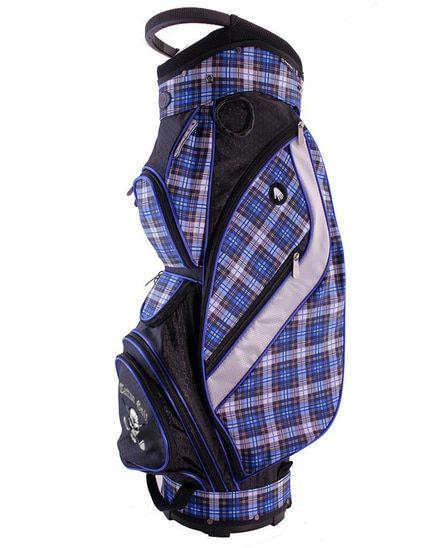 Women s Golf Bag - Galaxy Cart (Ocean Plaid) from Tattoo Golf - FREE  Shipping. Performance accac98c64874