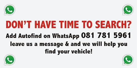 Don't have the time to #search for a vehicle? #WhatsApp #Autofind and we will do it for you! No matter what #vehicle you are looking for we will go out of our way find it!  Click on the link below for more details http://www.autofind.co.za/autofind-whatsapp.html  * Terms & Conditions apply