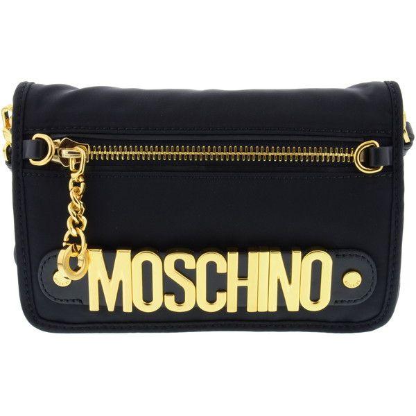 MOSCHINO - Brunarosso (€296) via Polyvore