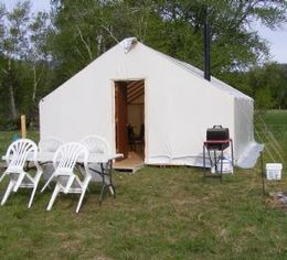 25 best ideas about canvas wall tent on pinterest wall for Woods prospector tent
