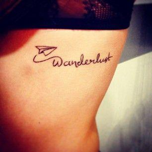 wanderlust tattoo - Tìm với Google