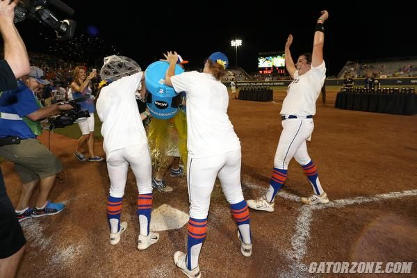 """""""Lauren left her mark,"""" Walton said of the only player in college softball history to win at least 70 games as a pitcher (73) and hit at least 70 homers (71), joining, yes, Babe Ruth as the only players in the history of the game played on a diamond to reach those milestones. """"She's one of the greatest Gators that ever played and put a uniform on."""""""
