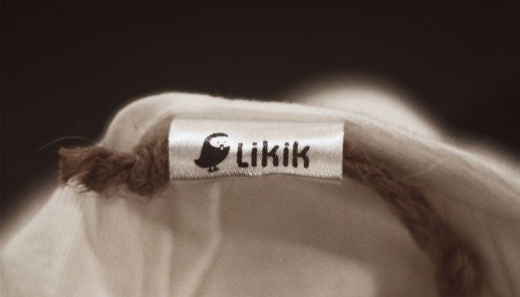 Soft fabric with tiny Likik logo
