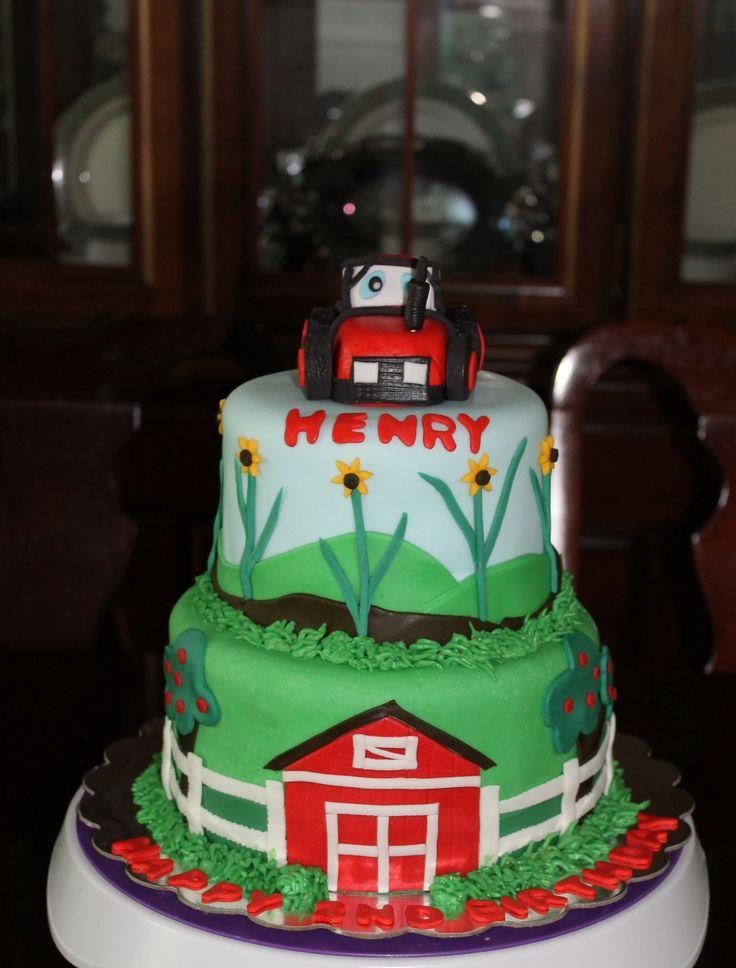 Best 25 Tractor Birthday Cakes Ideas On Pinterest