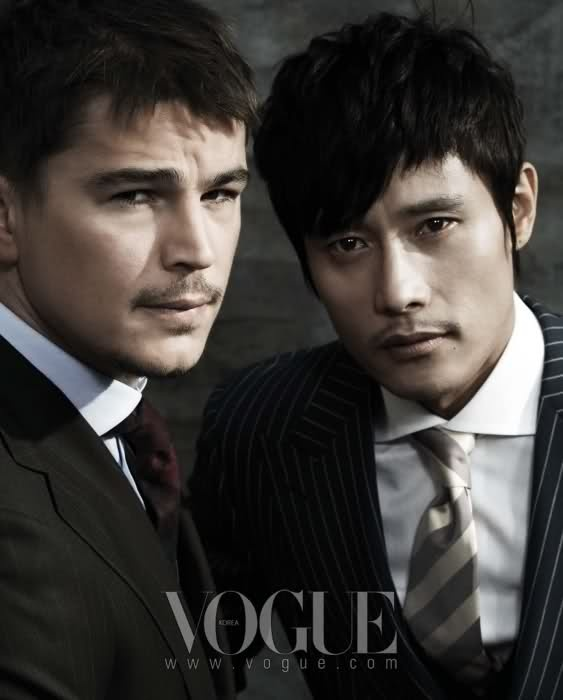 Lee Byung Hun and Josh Hartnett