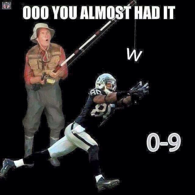 Funny Memes For Raiders : Haha almost had it raiders other football teams