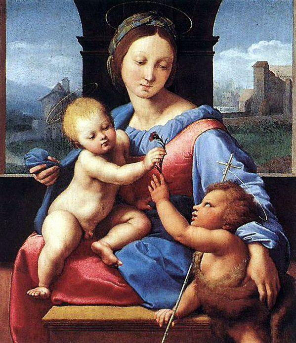 Raffaello Madonna Aldobrandini 1510 National Gallery London