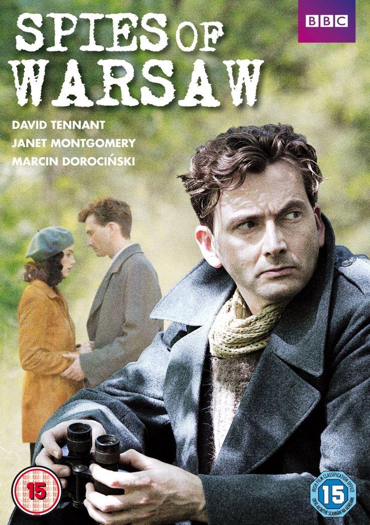 Spies of Warsaw [DVD]: Amazon.co.uk: David Tennant, Janet Montgomery, Marcin Dorocinski, Ann Eleonora Jorgensen, Burn Gorman, Tuppence Middleton, Coky Giedroyc, Richard Fell, Dick Clement, Ian La Frenais: DVD & Blu-ray